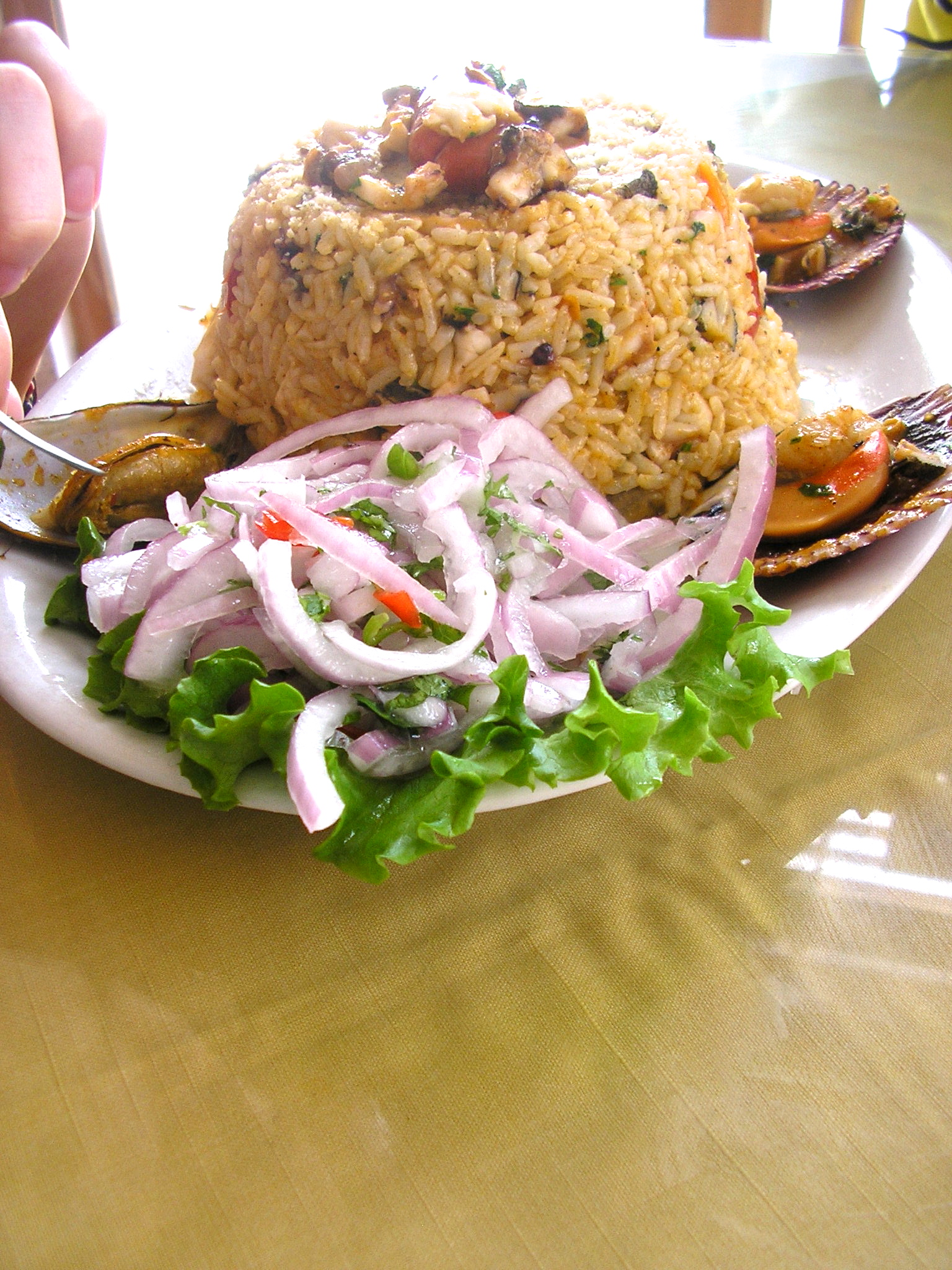 A seafood dish. Photo © Jillian Regan 2011