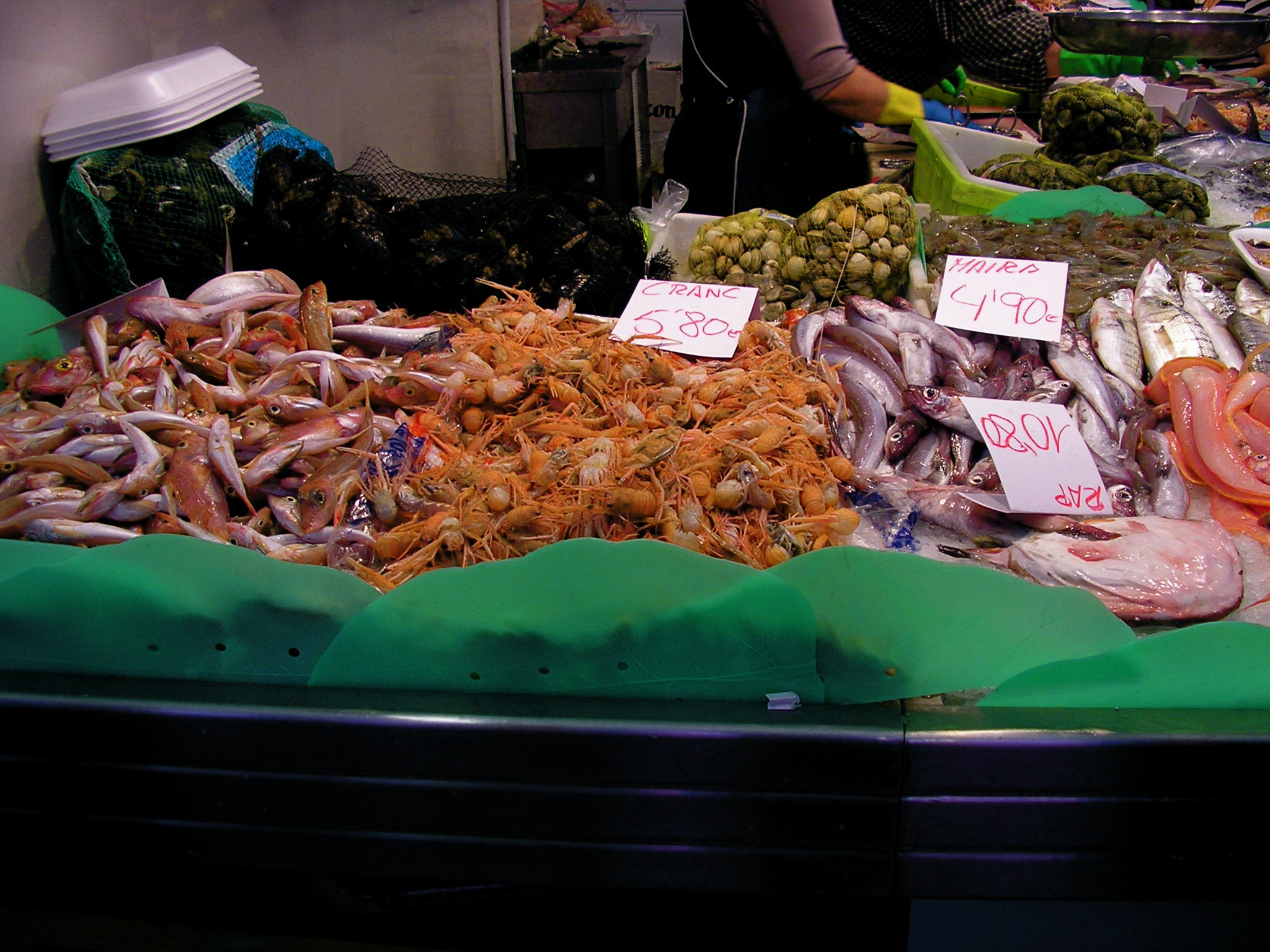 Fresh seafood at a market. Photo © Jillian Regan 2010