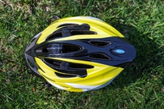 Wearing a bicycle helmet reduces the risk of head injuries. Many bicycle rental services, such as Jill + Ian's bicycle rentals, also rent helmets. Photo © Jillian Regan 2018