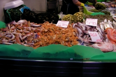 Fresh seafood at a market. Photo © Jillian Regan 2010