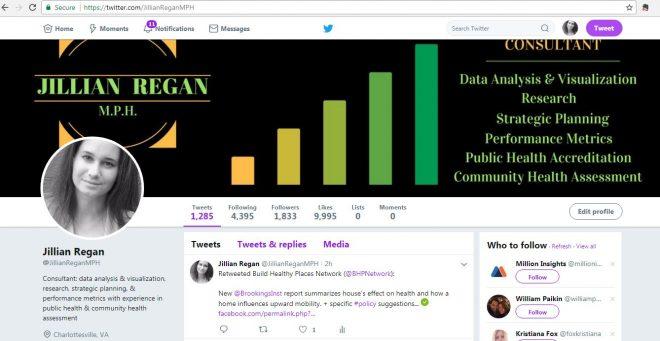 social media management public health accreditation community research